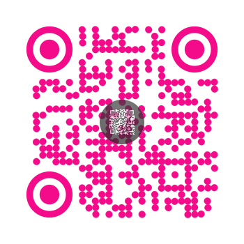 QR code to text with logo